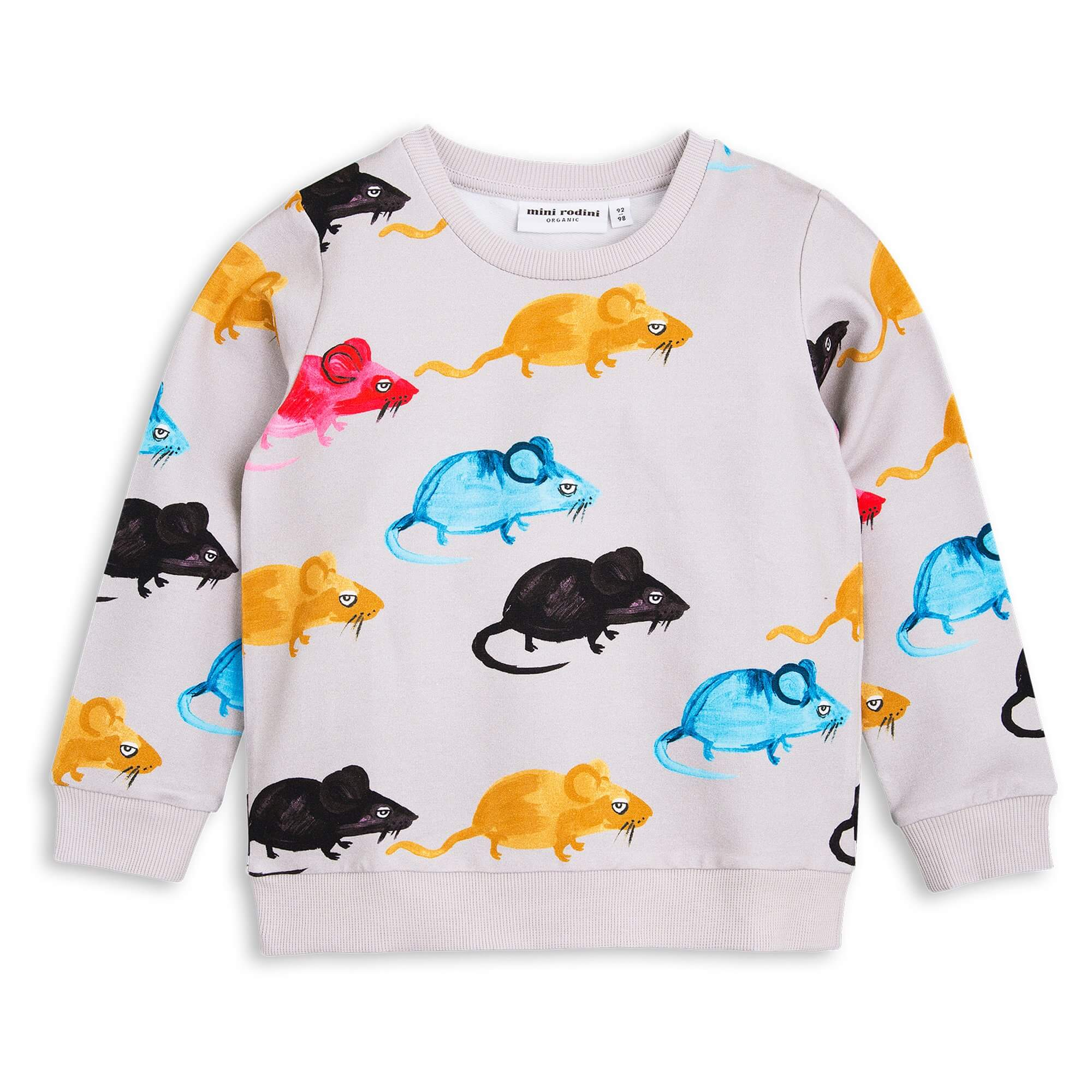 MINI RODINI Sweatshirt Mr. Mouse
