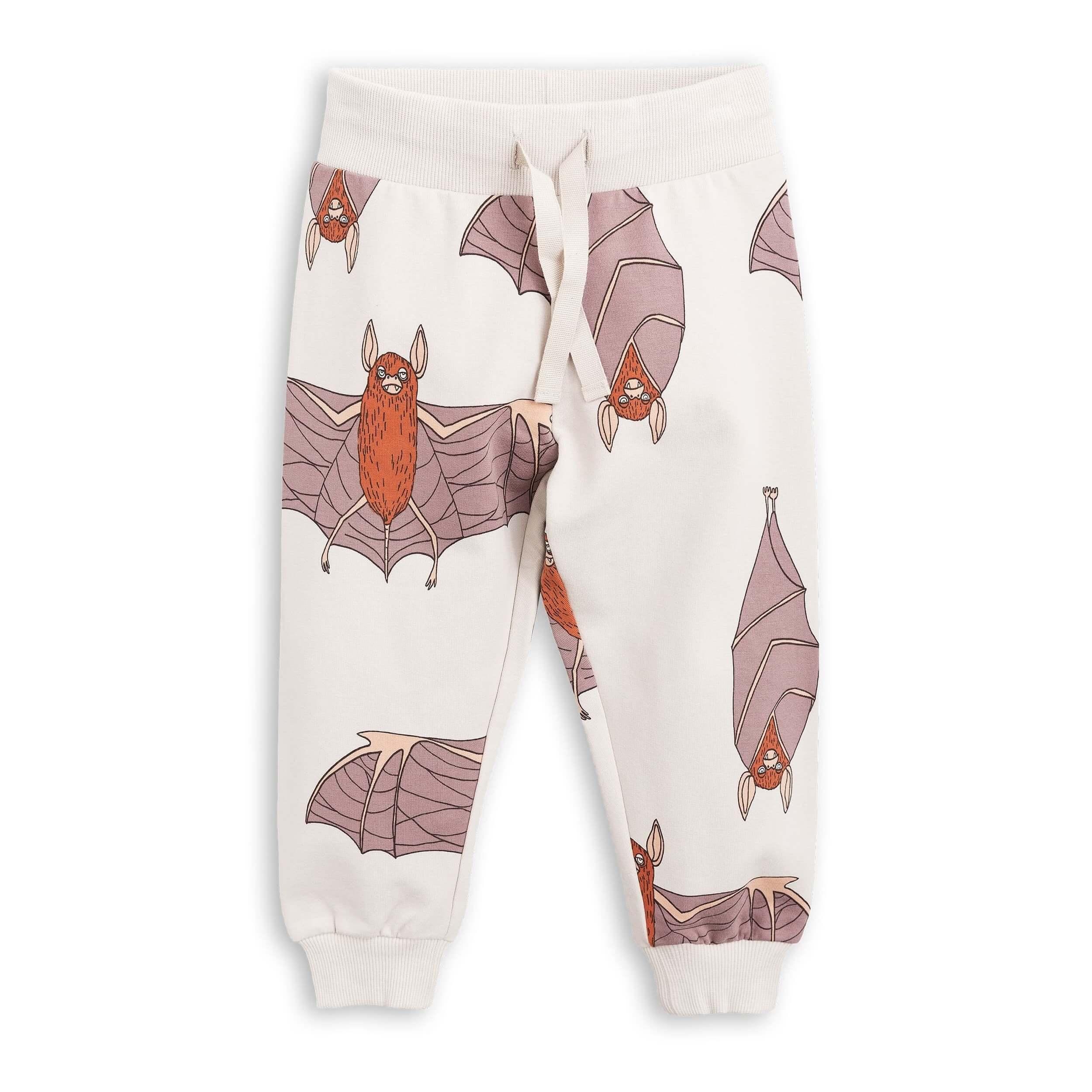 "MINI RODINI Sweatpants ""Fledermaus"", Biobaumwolle"