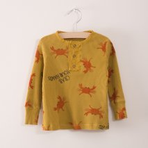BOBO CHOSES baby button t-shirt crab your hands