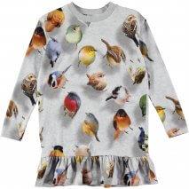 MOLO Caras dress bouncing birds