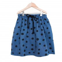 NADADELAZOS knee lenght skirt with dots