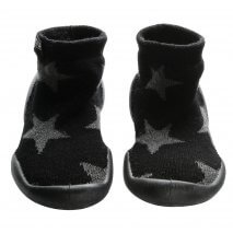 Nununu Collégien Stars slippers black