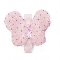 "LUCIOLE ET PETIT POIS Haarspage ""Schmetterling"" pink"