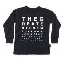 NUNUNU Vision/Sehtest T-shirt schwarz