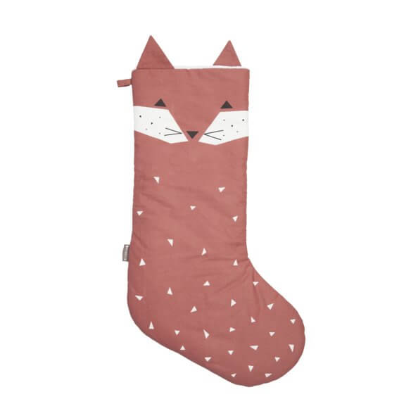 FABELAB Christmas Stockings Fox