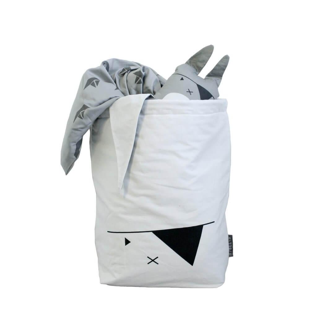 "FABELAB Canvassack ""storage bag pirate bunny"""