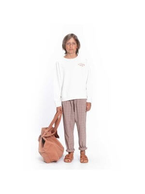 Piupiuchick_checkered_trousers_chidlren_taupe