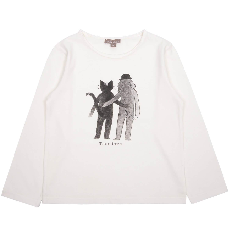 EMILE ET IDA long sleeved shirt True love