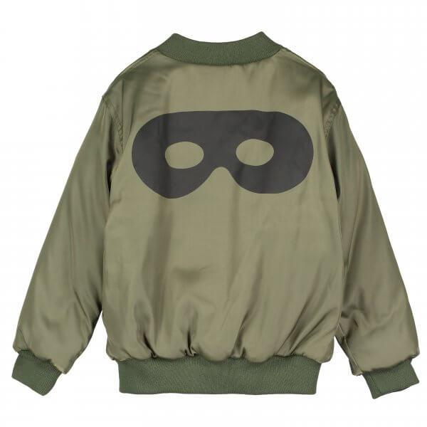 BEAU LOVES- bomber- Jacke-grün-maske