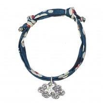 LUCIOLE ET PETIT POIS liberty bracelet Blue