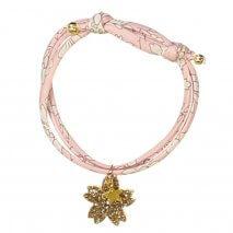 LUCIOLE ET PETIT POIS liberty bracelet Pink
