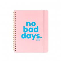 "BAN.DO 12 Monate Planer/Kalender ""no bad days"" (2018)"