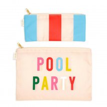 BAN.DO 2 er Taschen-Set, pool party / national stripe