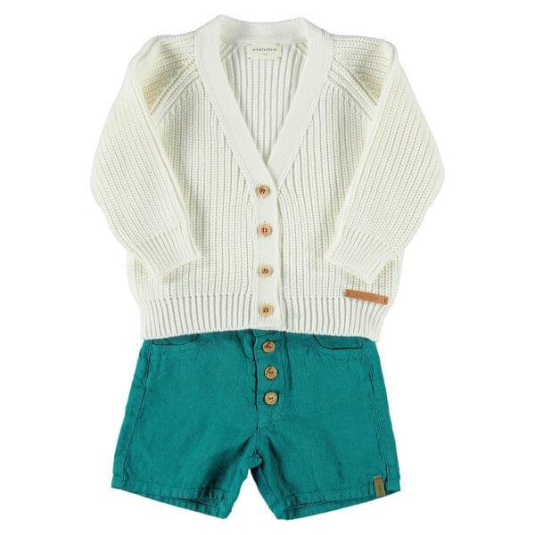 Piupiuchick shorts Emerald-outfit