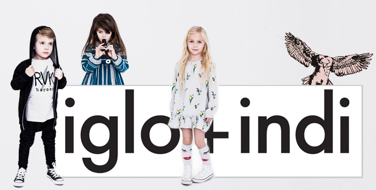 iglo and indi, Kinderkelidung aus Island